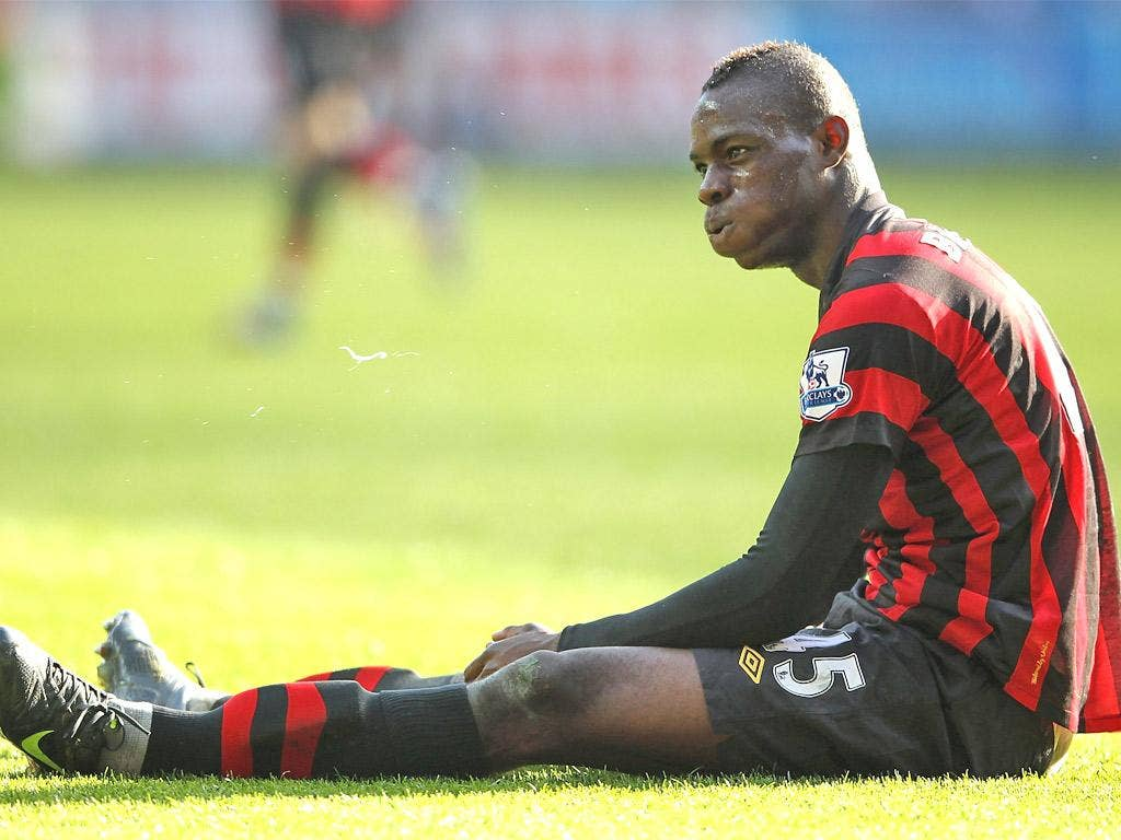 Elite players such as Mario Balotelli have excellent cognitive functions