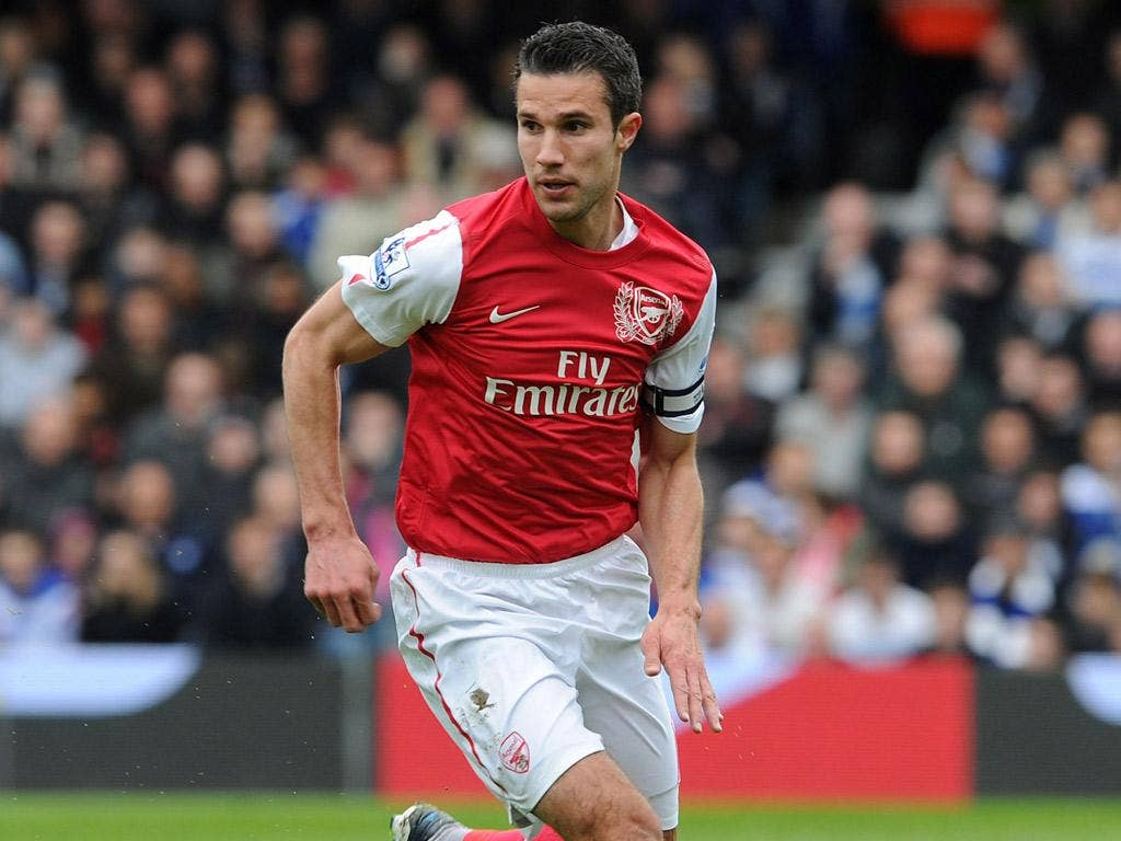 Robin van Persie has done an 'outstanding job' leading the side