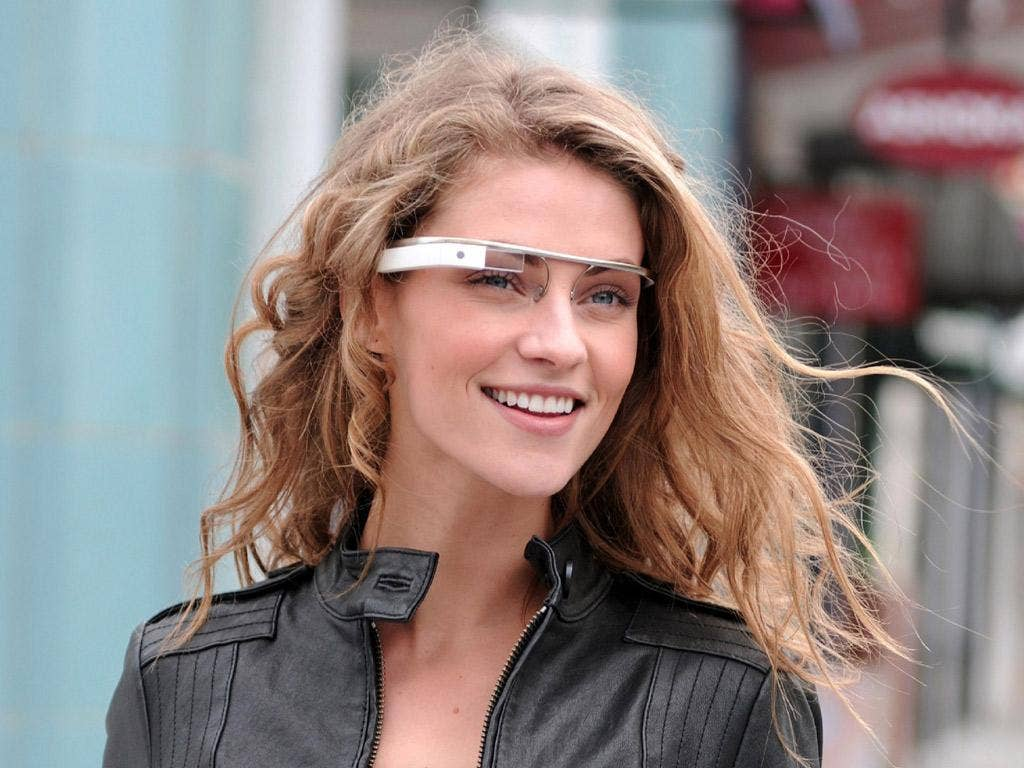Google unveiled 'Project Glass', an HUD that will be able to show you weather forecasts, proximity of friends, calendars and much else besides