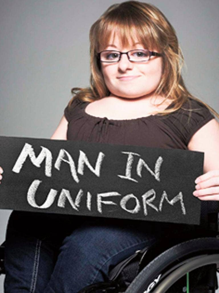 Penny from 'The Undateables' wants to date a tall policeman