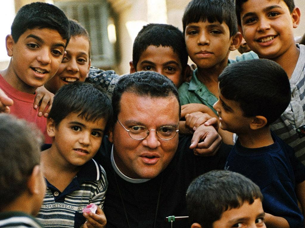 Andrew White, the 'vicar of Baghdad': 'Why can't I be Iraqi?', he wants to know