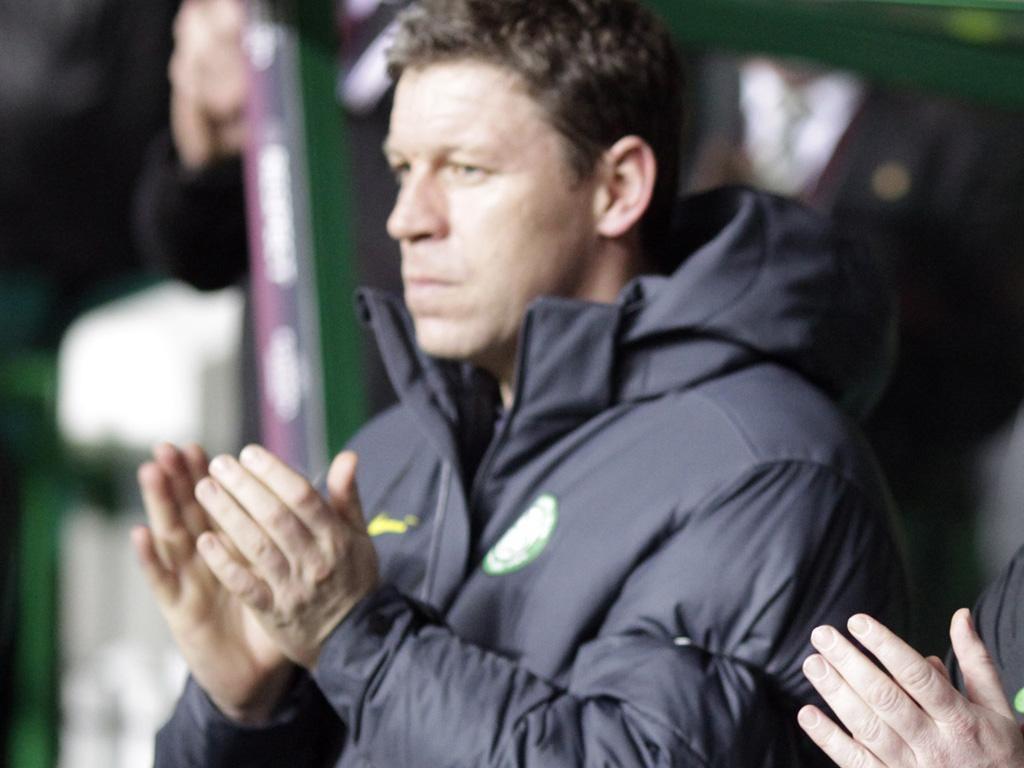 Celtic's first-team coach, Alan Thompson