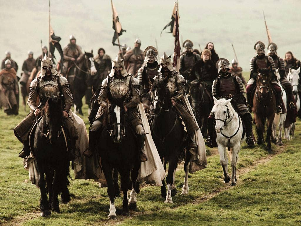 <i>Game of Thrones</i>, distinguished by its spectacular visuals, is at its best when tongue in cheek