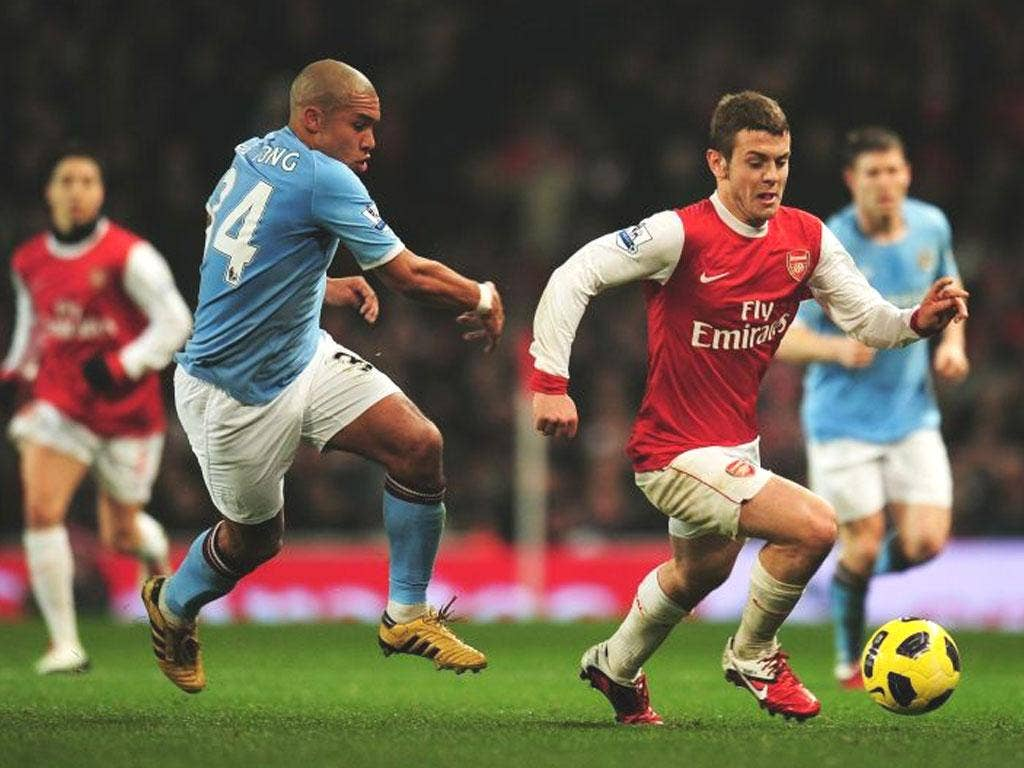 It would be lovely to see Wilshere back in action for club and country