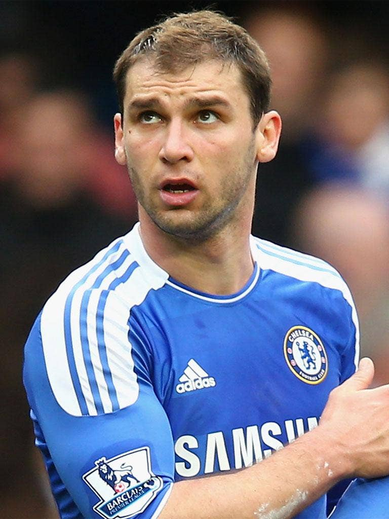 Branislav Ivanovic has been charged with violent conduct