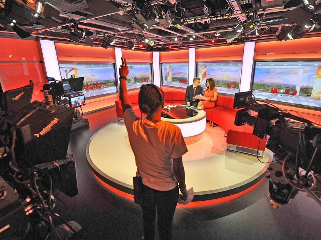Bill Turnbull and Susanna Reid present 'Breakfast' from Salford