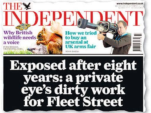 How 'The Independent' reported the Motorman revelations last year