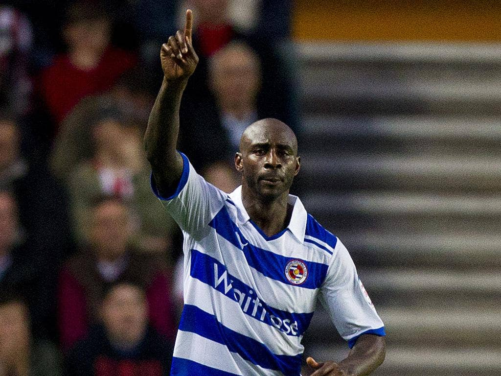 Jason Roberts: Headed his sixth goal for Reading since joining from Blackburn Rovers in late January