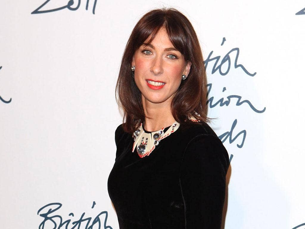 Samantha Cameron: a high-flyer with a wealthy background