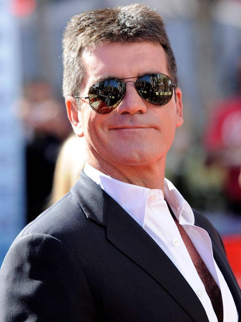 Simon Cowell admits he 'had a crush' on his fellow X Factor judge, Dannii Minogue