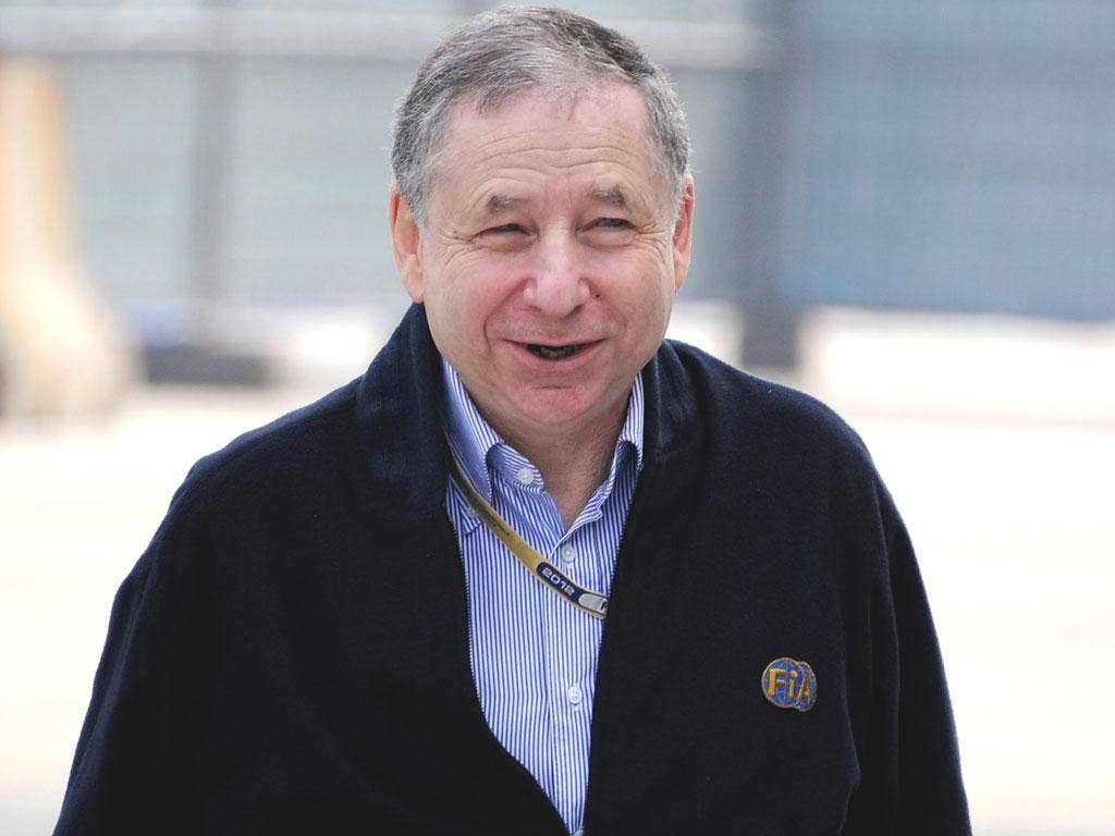 JEAN TODT: The president of the FIA has insisted the Bahrain Grand Prix will go ahead on Sunday