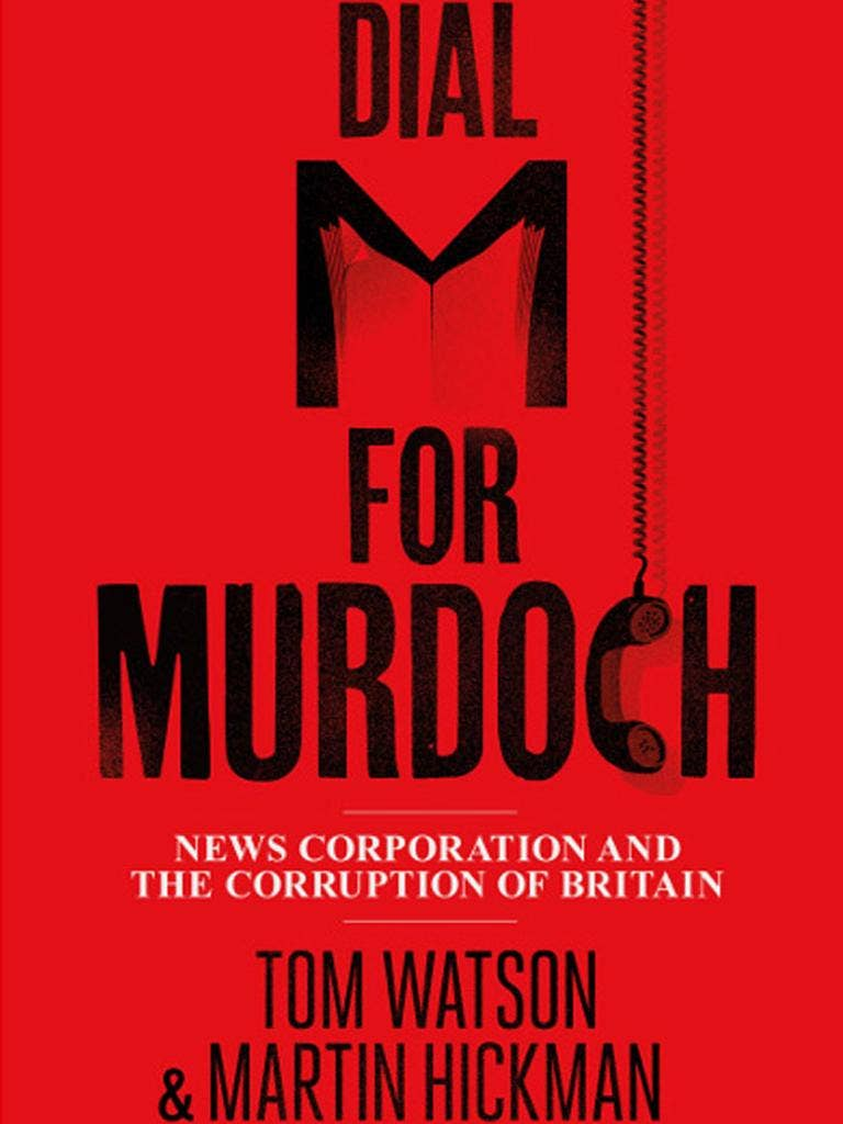 Dial M for Murdoch: Details of the book's publication were kept secret fearing News International would try to damage its launch