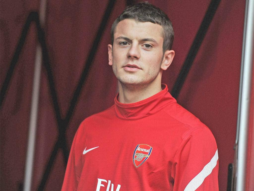 Wilshere had been playing on the left of a midfield three under Capello