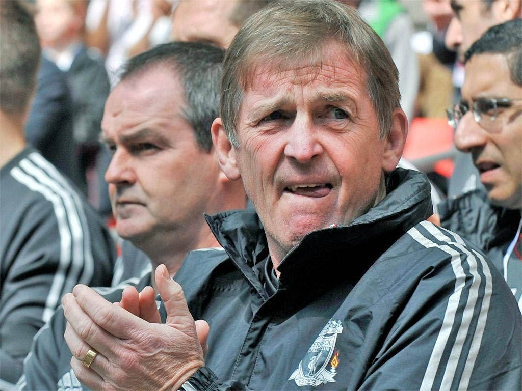 Kenny Dalglish met with owner John W Henry yesterday
