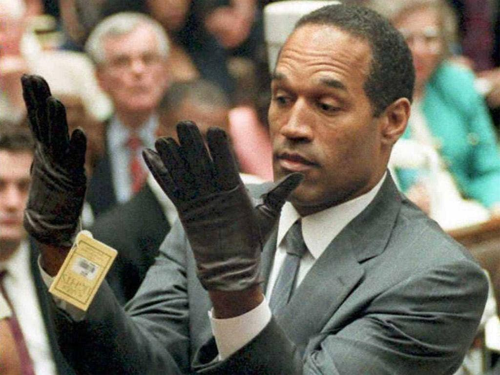 The trial of OJ Simpson was shown in the UK