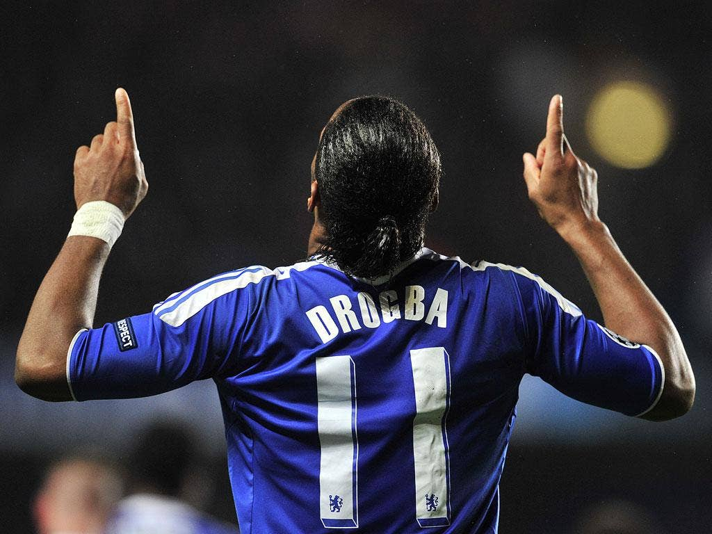 Didier Drogba has been in fantastic form