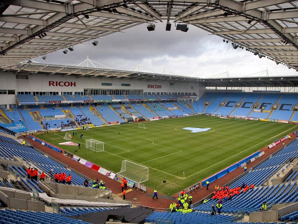 Even the arrival of the Olympics does not bring much financial cheer as the club does not own the Ricoh