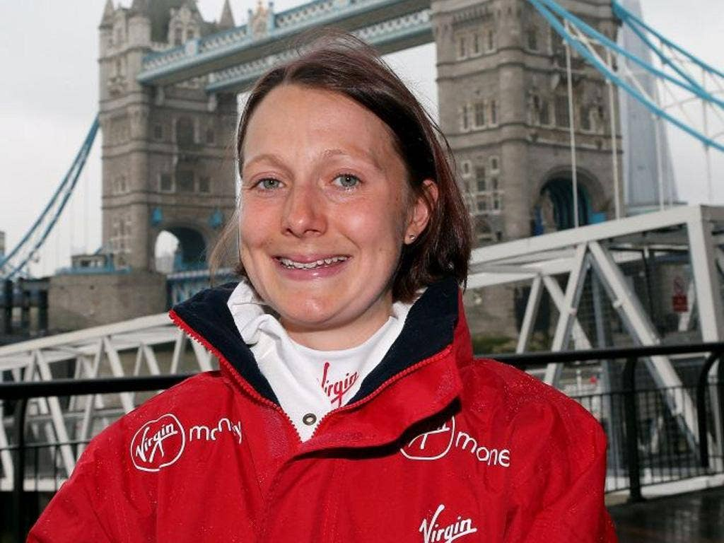Claire Hallissey (pictured) seems best placed to target Jo Pavey's time