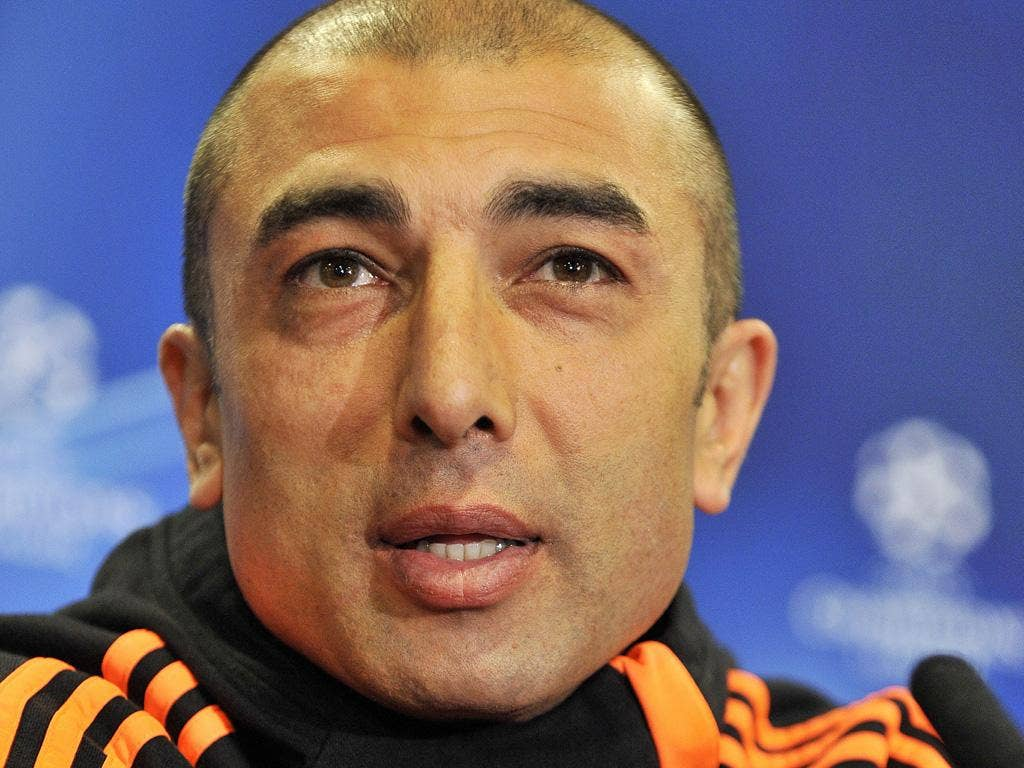 Roberto Di Matteo: The caretaker manager will make changes for Chelsea's match at Arsenal