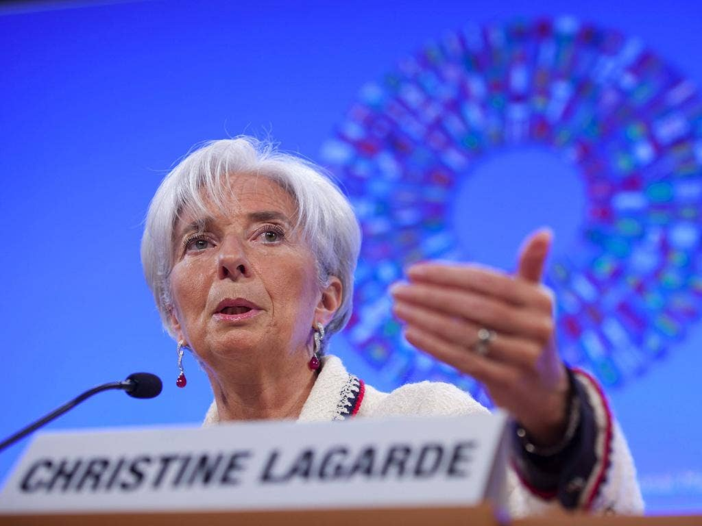 Christine Lagarde: The IMF's boss has raised total lending resources by $430bn.