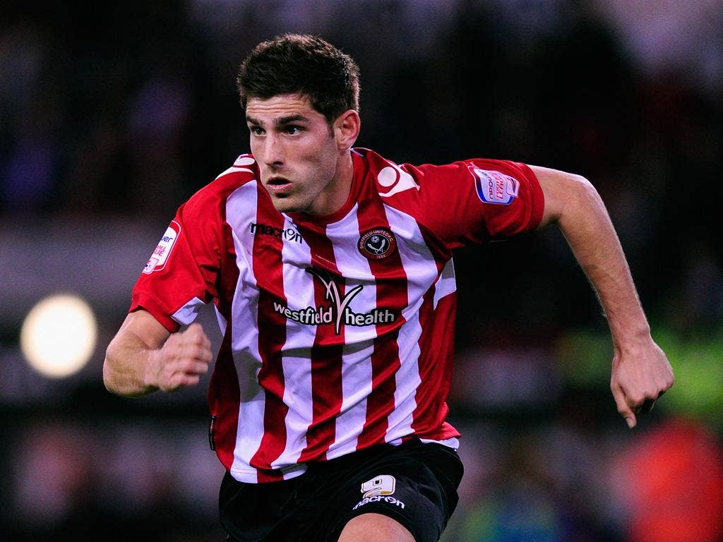 Sheffield United striker and Wales international Ched Evans