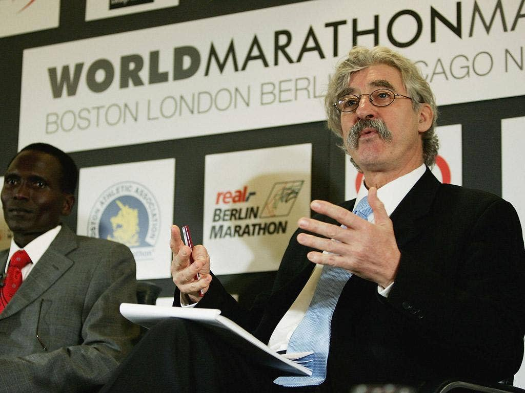 Going with a gong? Race director David Bedford deserves an award