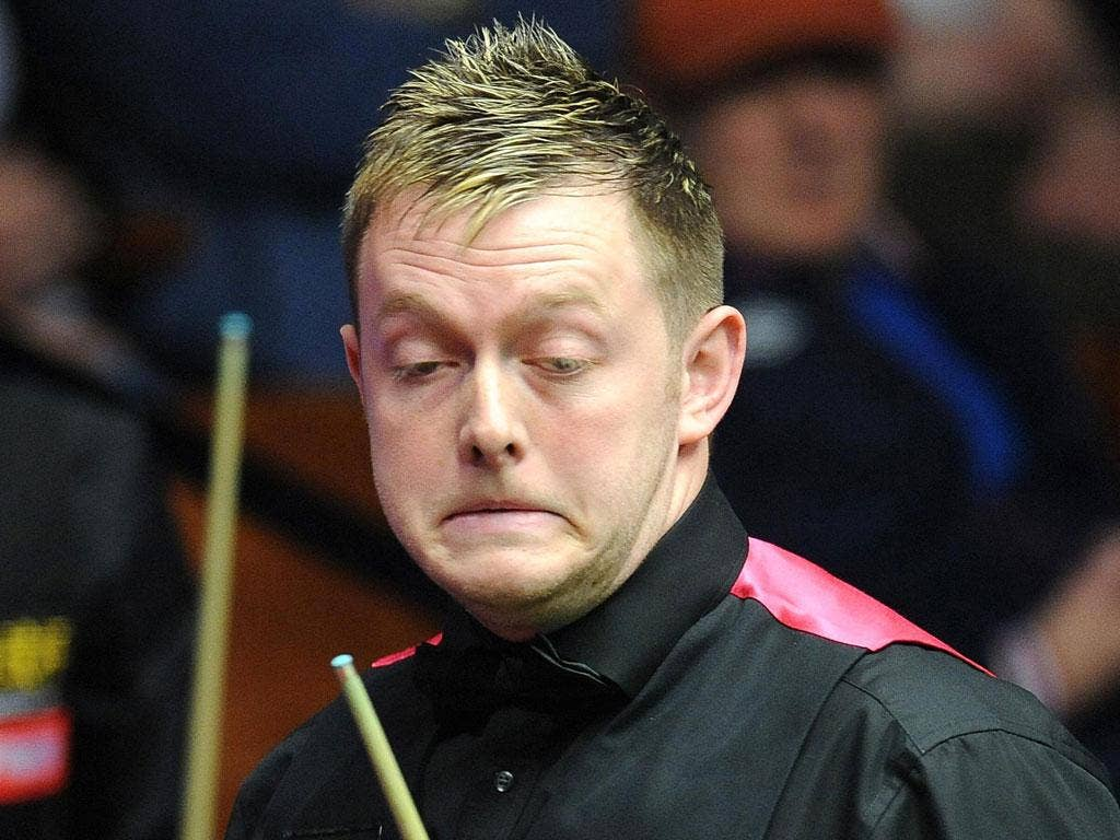 MARK ALLEN: The world No 11 labelled China's Cao Yupeng a cheat after his first-round loss on Sunday