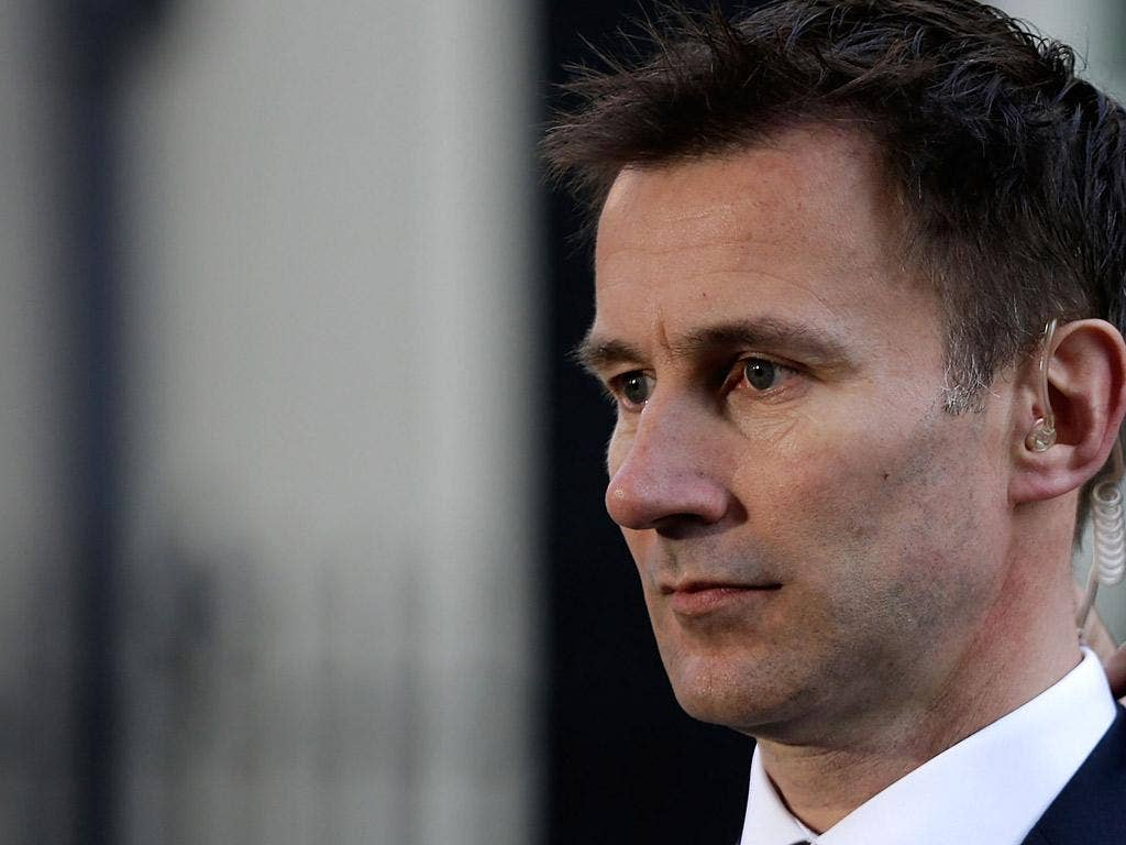 Jeremy Hunt is also facing calls to quit