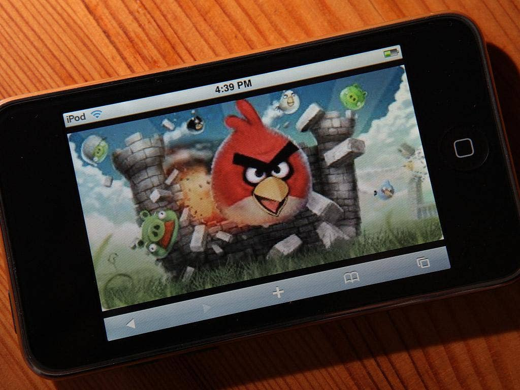 Angry Birds took best game second year running at the Carphone Warehouse Appys