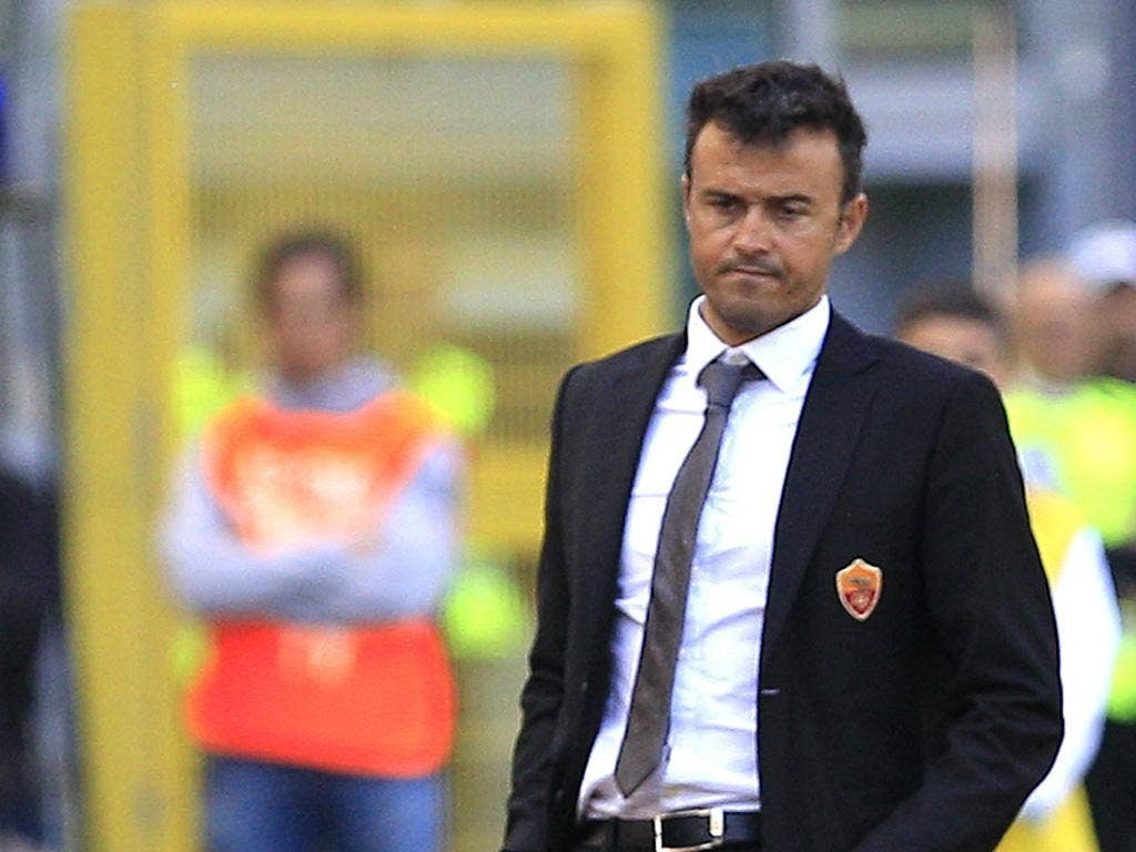 Luis Enrique: staying at Roma