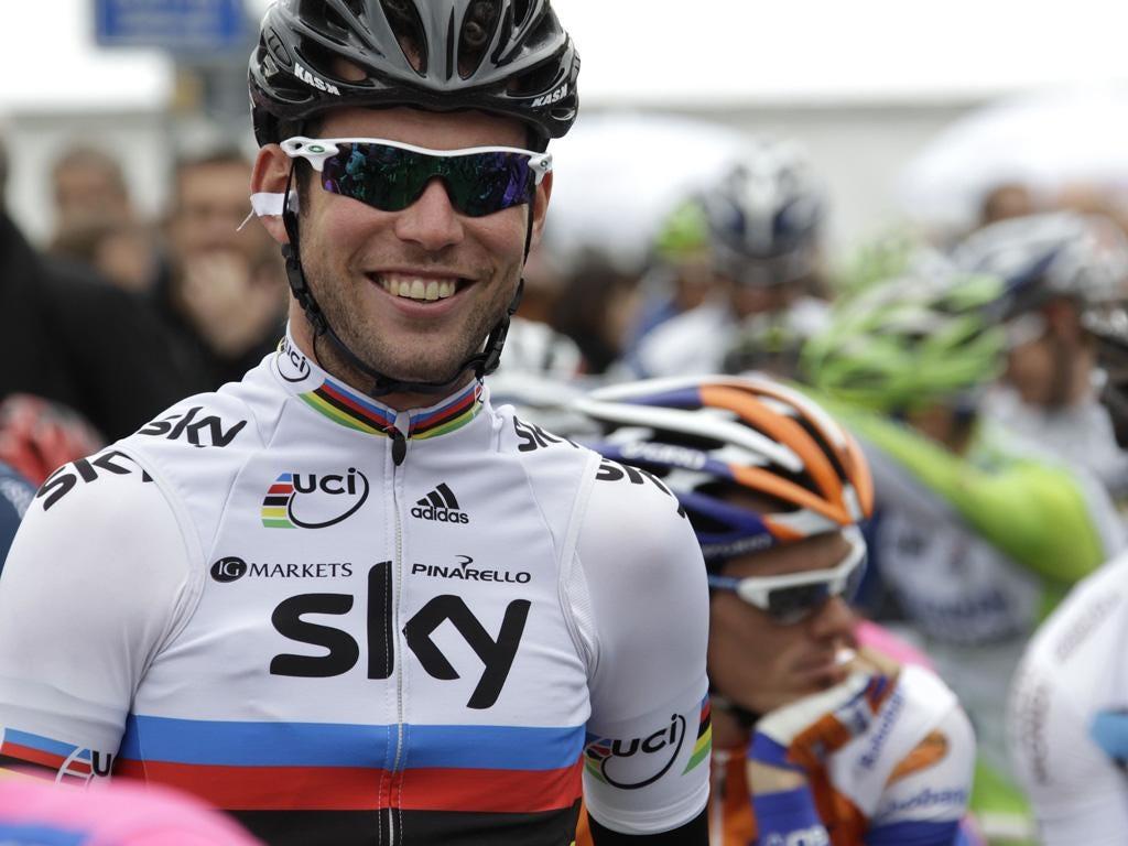 Team Sky's Mark Cavendish