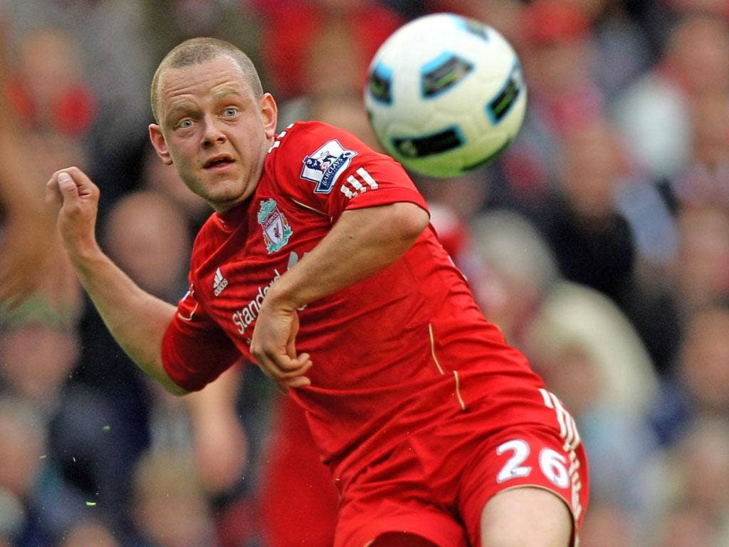 No Mersey: Jay Spearing has had to compete with big-money signings