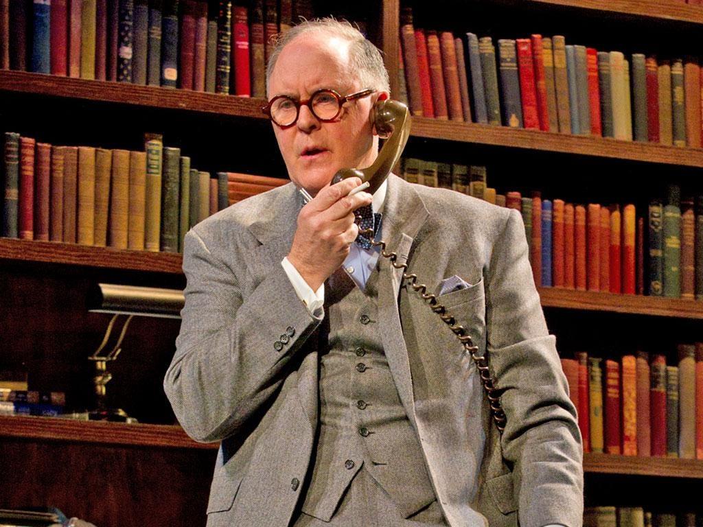 John Lithgow portrays legendary columnist Joseph Alsop in a new Broadway play