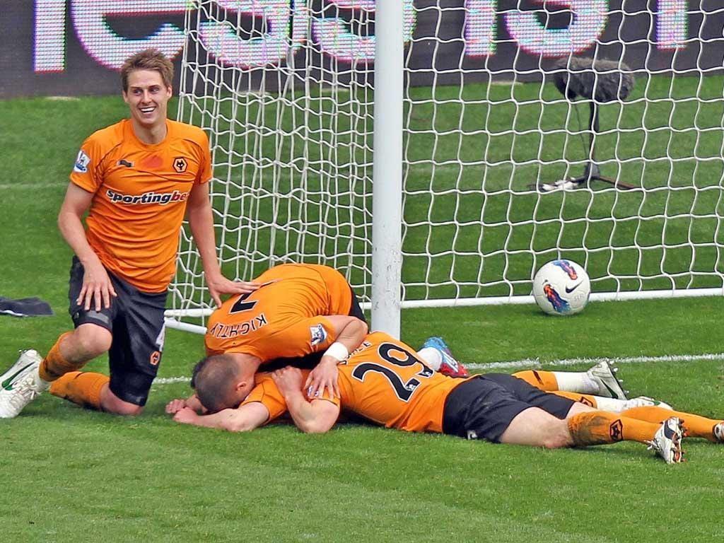 Wolves fight back against Swansea
