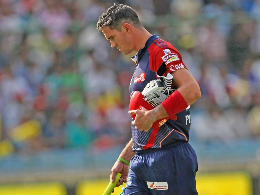 Kevin Pietersen made just 5 but signed off with a win in his final match for Delhi in the IPL
