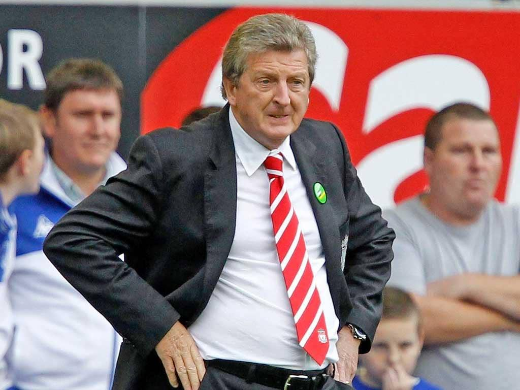 Roy Hodgson endured a torrid time as Liverpool manager