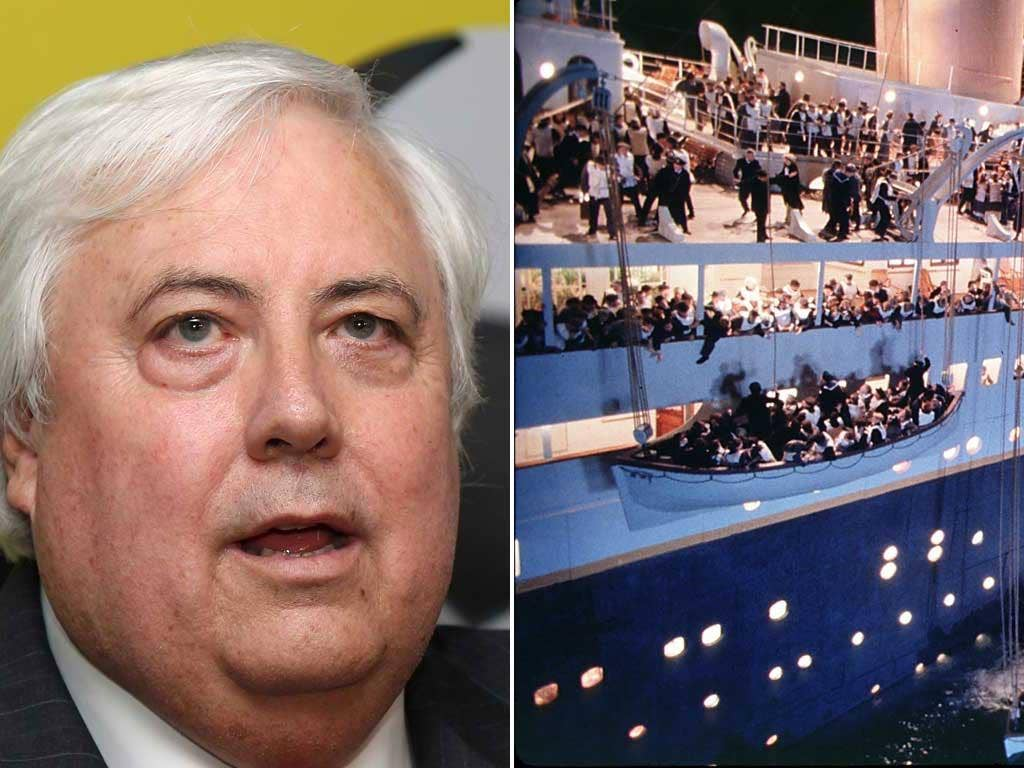 Clive Palmer says the liner will be every bit as luxurious as the original Titanic, but will have state-of-the-art 21st-century technology and the 'latest navigation and safety systems'