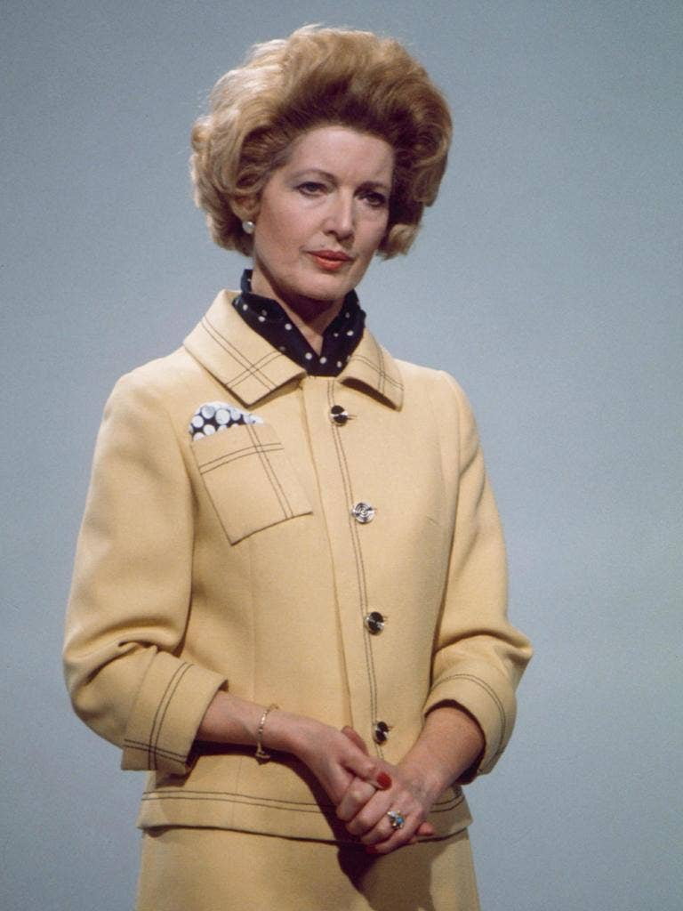 First impressions: Janet Brown as Margaret Thatcher (1979)