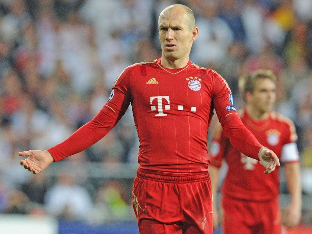 Arjen Robben had called his two-year extension at Bayern a 'formality'
