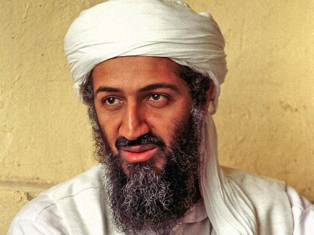 Internal emails among US military officers indicate that no sailors watched Osama bin Laden's burial at sea from the USS Carl Vinson and traditional Islamic ... - Pg-36-bin-laden-ap