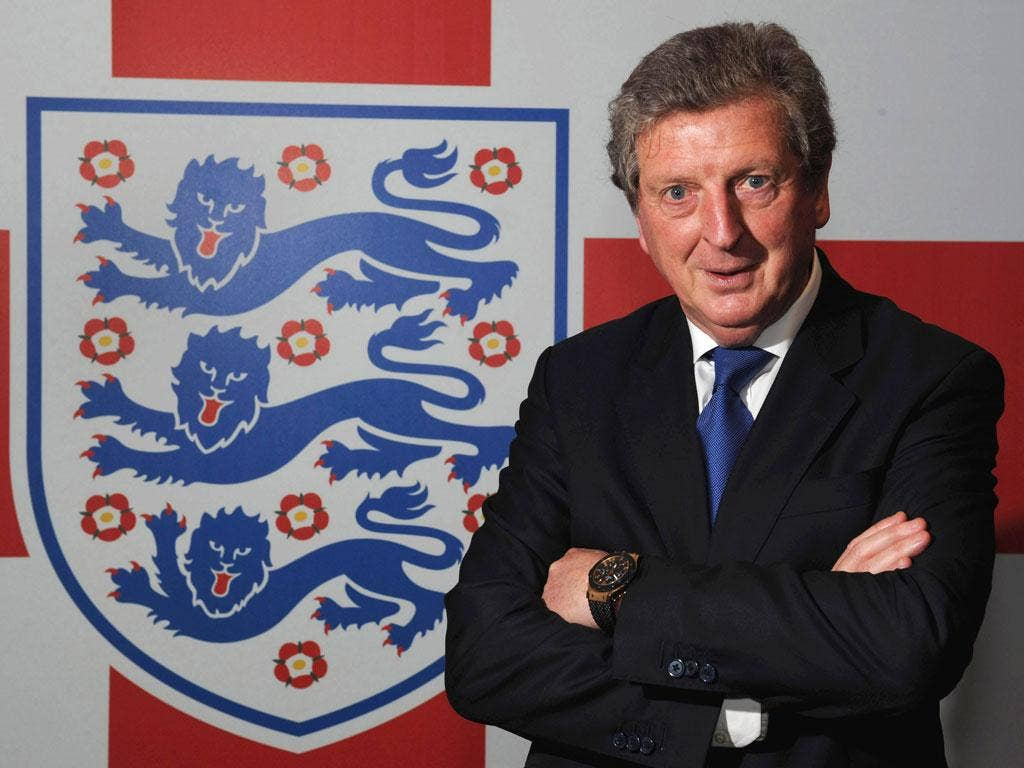 Roy Hodgson on his appointment