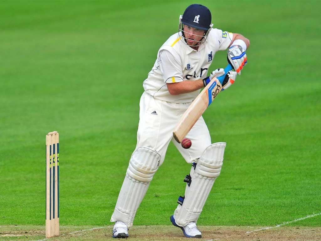 A welcome return to form for England batsman Ian Bell