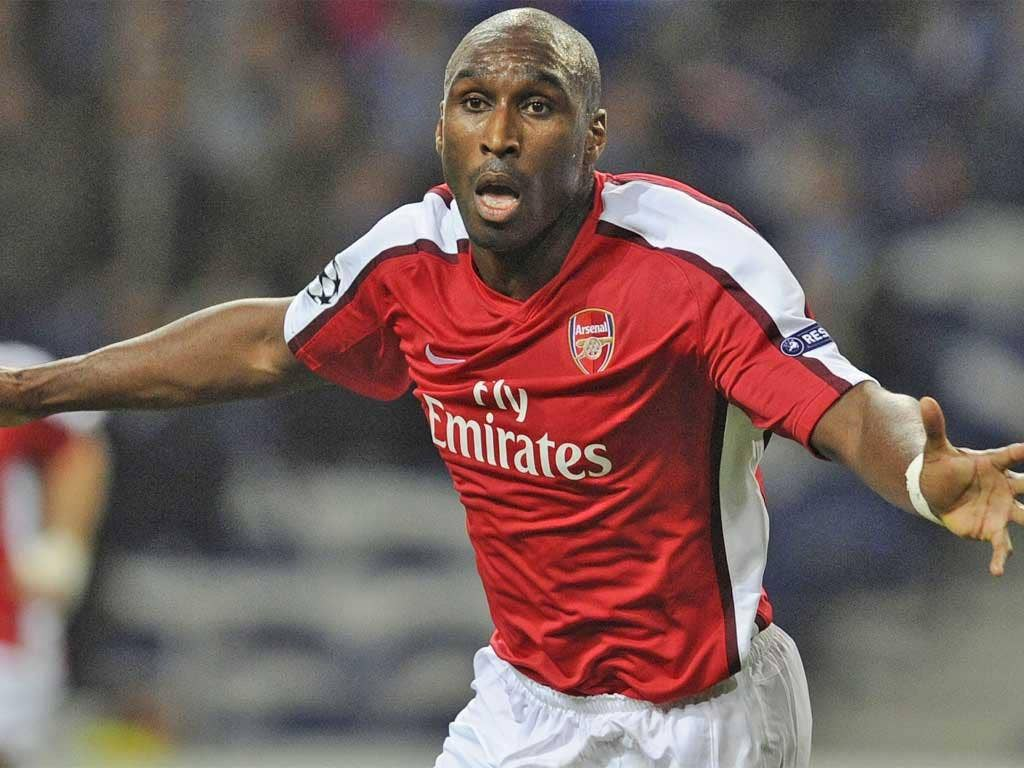 Campbell achieved most of his success in the red and white of Arsenal
