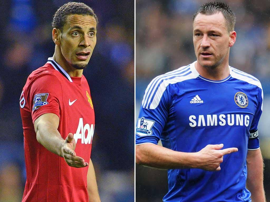 Rio Ferdinand and John Terry have been England's first choice centre-back pairing for almost a decade