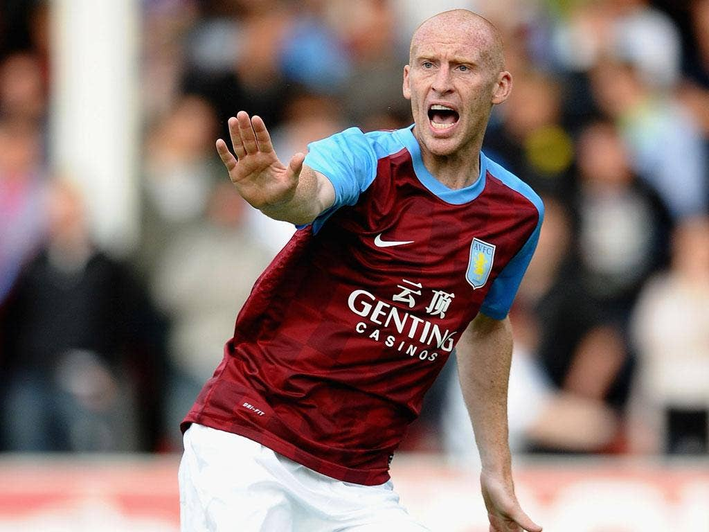 James Collins was one of the players involved