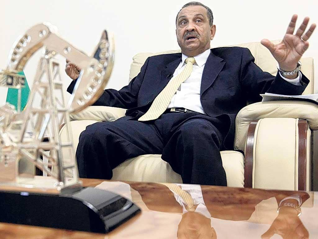 Reformist: Ghanem in March last year, when he was still in charge of Libya's oil industry