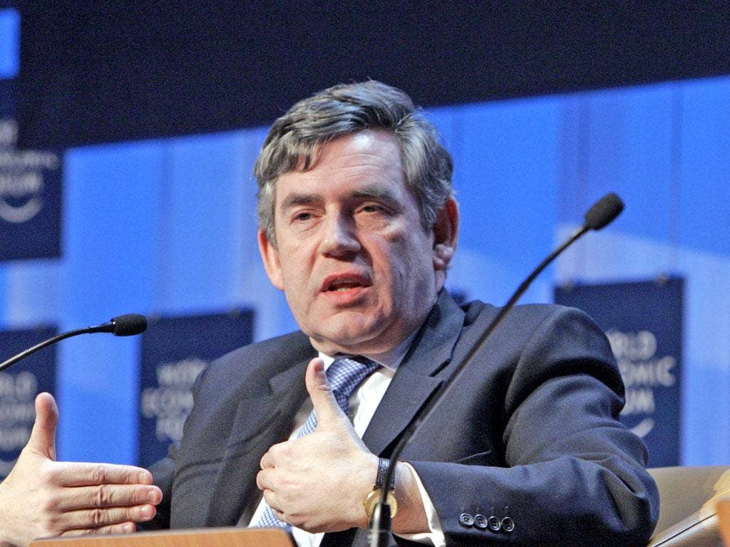 GORDON BROWN: In 2000 a contractor checked the then-Chancellor's records illicitly