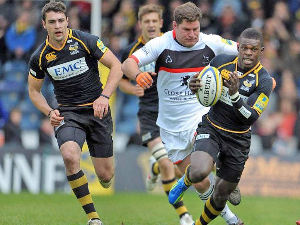 Wasps' winger Christian Wade has been called up by England for the South Africa tour