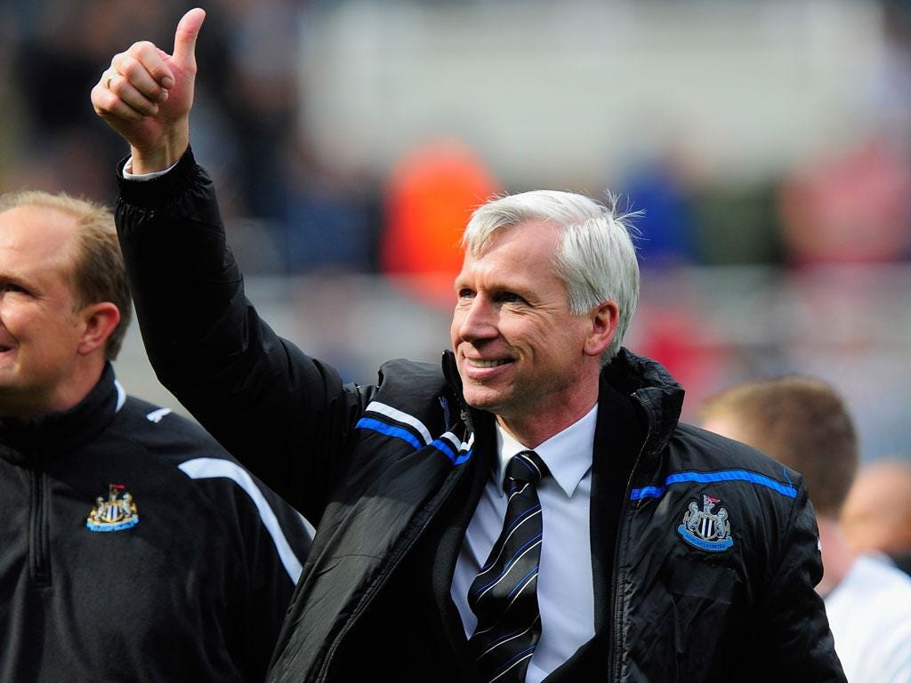 Alan Pardew was unpopular upon his arrival at Newcastle