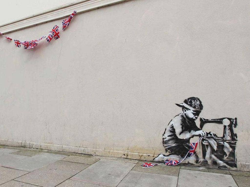 Arts council unable to prevent banksy poundland mural from for Banksy mural sold